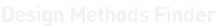 Designmethodenfinder Logo